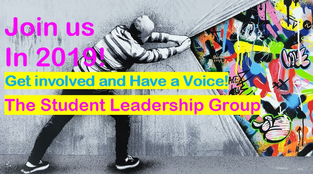 Student Leadership Group poster